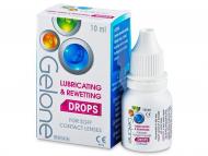 Očné kvapky - kvapky pre zvlhčenie očí - umelé slzy - Stericon Pharma - Očné kvapky Gelone Drops 10ml