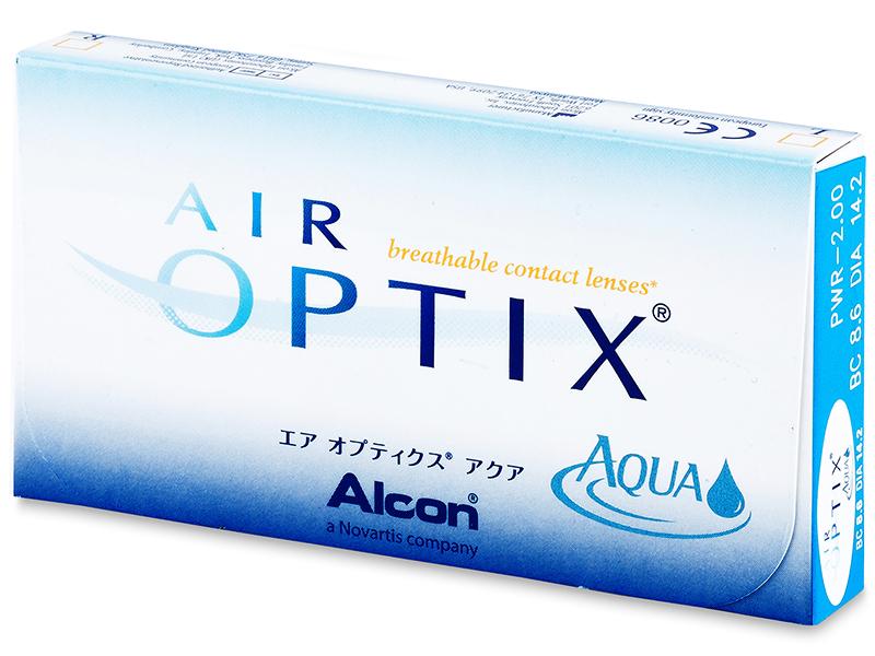 Air Optix Aqua (3šošovky) - Starší vzhľad
