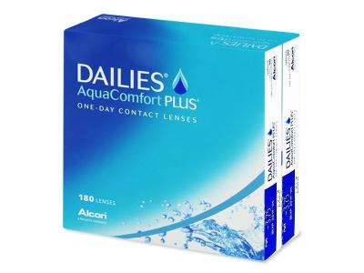 Jednodenné kontaktné šošovky - Dailies AquaComfort Plus (180šošoviek)