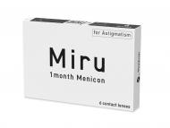 Tórické (astigmatické) kontaktné šošovky - Miru 1 Month Menicon for Astigmatism (6 šošoviek)