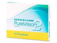 Kontaktné šošovky lacno - PureVision 2 for Presbyopia (3 šošovky)