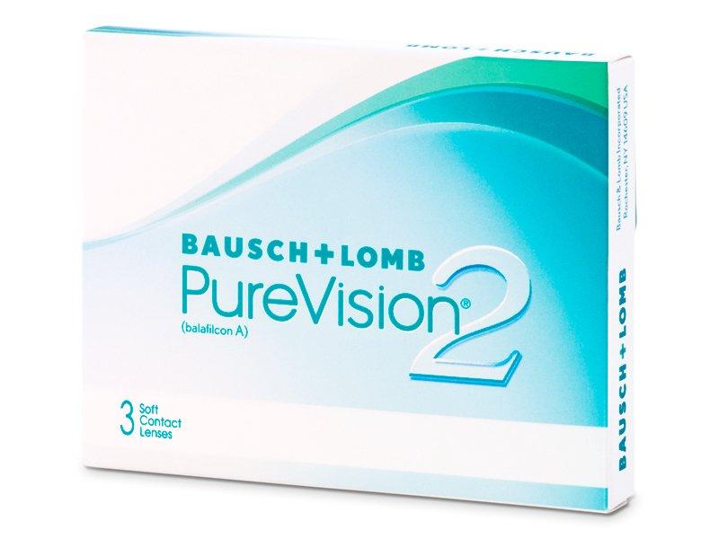 PureVision 2 (3šošovky) - Mesačné kontaktné šošovky