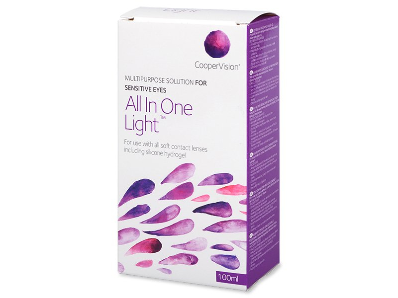 Roztok All in One Light 100 ml  - Čistiaci roztok