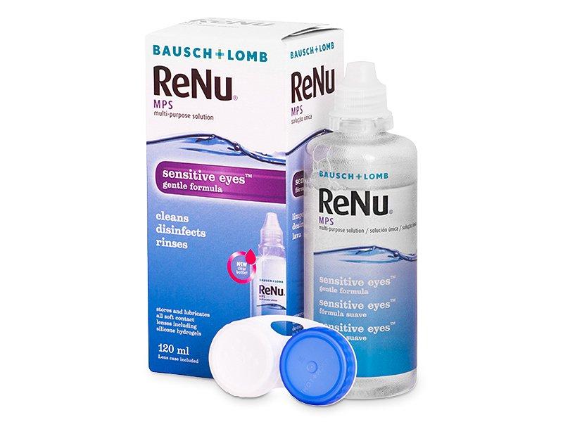 Roztok ReNu MPS Sensitive Eyes 120 ml  - Čistiaci roztok