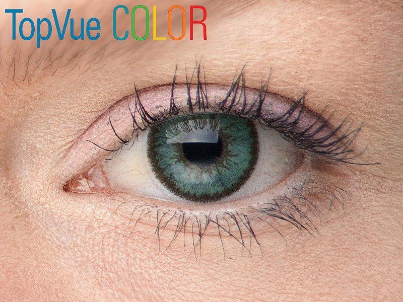 fdc957c1a farebné kontaktné šošovky TopVue Color – dioptrické (2 šošovky) od ...