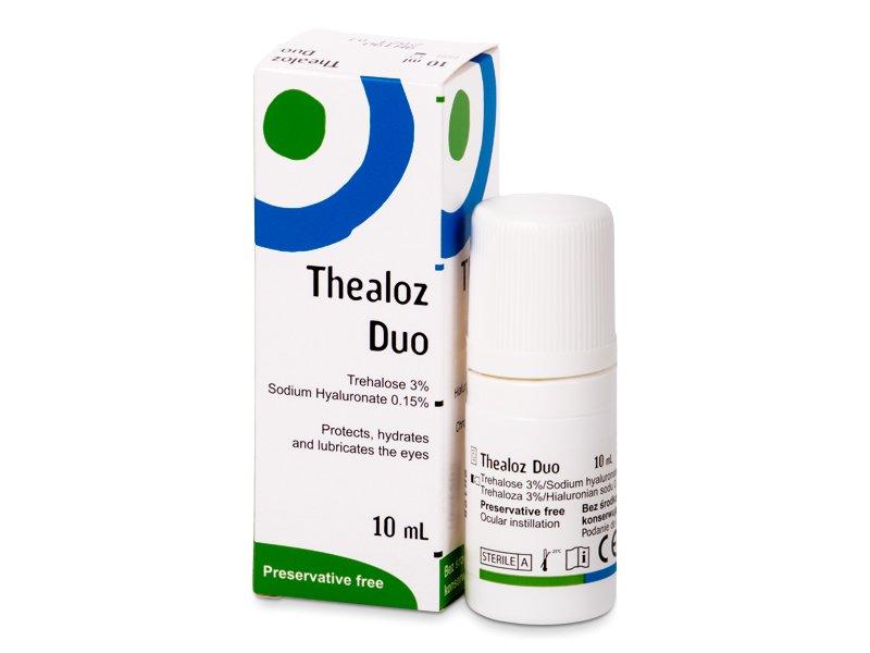 Očné kvapky Thealoz Duo 10 ml  - Očné kvapky