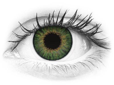 Air Optix Colors - Green - nedioptrické (2šošovky)