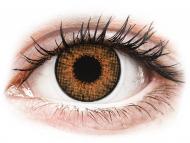 Mesačné kontaktné šošovky - Air Optix Colors - Honey - dioptrické (2šošovky)
