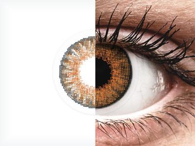Air Optix Colors - Honey - nedioptrické (2šošovky)