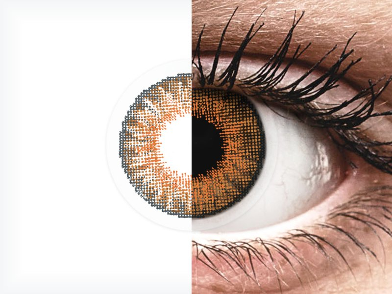 Air Optix Colors - Honey - dioptrické (2šošovky) - Air Optix Colors - Honey - dioptrické (2šošovky)