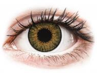 Mesačné kontaktné šošovky - Air Optix Colors - Pure Hazel - dioptrické (2šošovky)