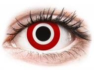 Farebné kontaktné šošovky - kozmetické očné šošovky - zmena farby očí - ColourVUE Crazy Lens - Bulls Eye - nedioptrické (2šošovky)
