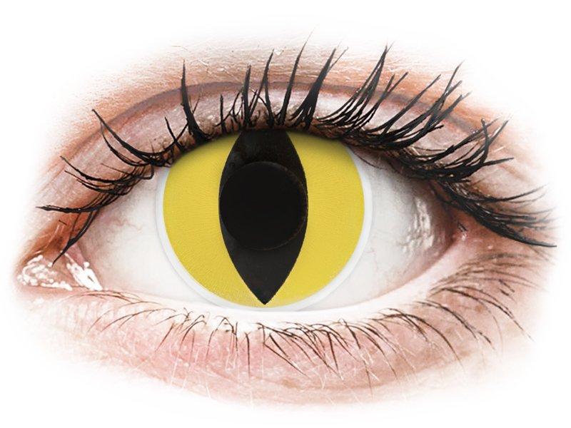 ColourVUE Crazy Lens - Cat Eye - nedioptrické (2šošovky)