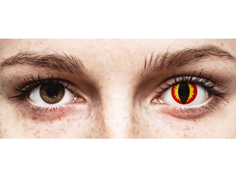 ColourVUE Crazy Lens - Dragon Eyes - nedioptrické (2šošovky) - ColourVUE Crazy Lens - Dragon Eyes - nedioptrické (2šošovky)