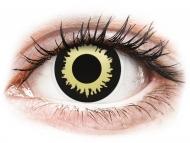 Kontaktné šošovky Maxvue Vision - ColourVUE Crazy Lens - Eclipse - nedioptrické (2šošovky)