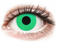 Kontaktné šošovky Maxvue Vision - ColourVUE Crazy Lens - Emerald (Green) - nedioptrické (2šošovky)