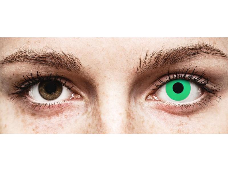 ColourVUE Crazy Lens - Emerald (Green) - nedioptrické (2šošovky) - ColourVUE Crazy Lens - Emerald (Green) - nedioptrické (2šošovky)