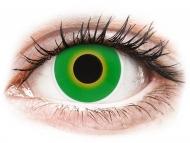 Kontaktné šošovky Maxvue Vision - ColourVUE Crazy Lens - Hulk Green - nedioptrické (2šošovky)