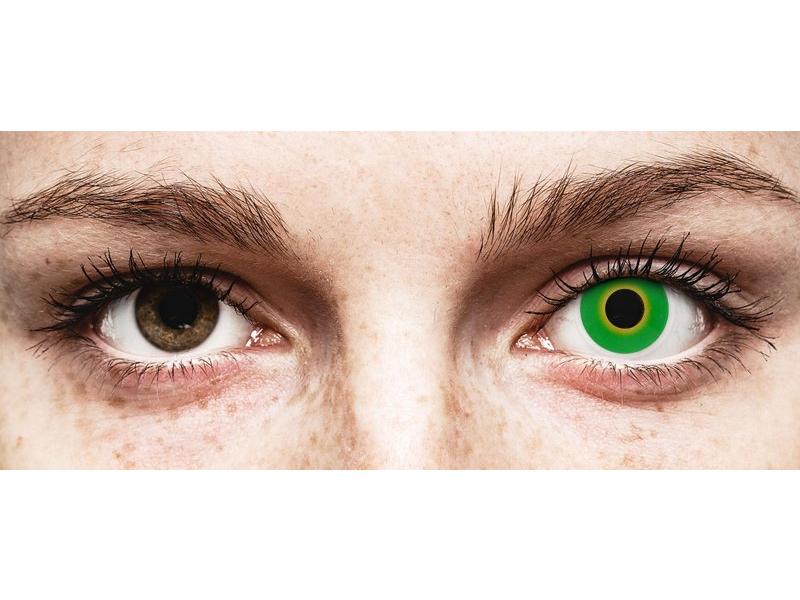 ColourVUE Crazy Lens - Hulk Green - nedioptrické (2šošovky) - ColourVUE Crazy Lens - Hulk Green - nedioptrické (2šošovky)