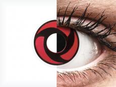 ColourVUE Crazy Lens - Mangekyu - nedioptrické (2šošovky)