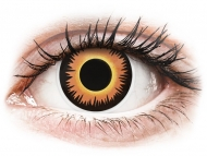 Kontaktné šošovky Maxvue Vision - ColourVUE Crazy Lens - Orange Werewolf - nedioptrické (2šošovky)