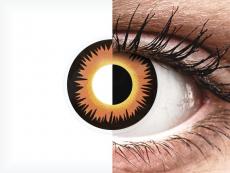 ColourVUE Crazy Lens - Orange Werewolf - nedioptrické (2šošovky)