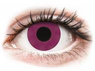 Kontaktné šošovky Maxvue Vision - ColourVUE Crazy Lens - Purple - nedioptrické (2šošovky)