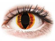 Kontaktné šošovky Maxvue Vision - ColourVUE Crazy Lens - Saurons Eye - nedioptrické (2šošovky)