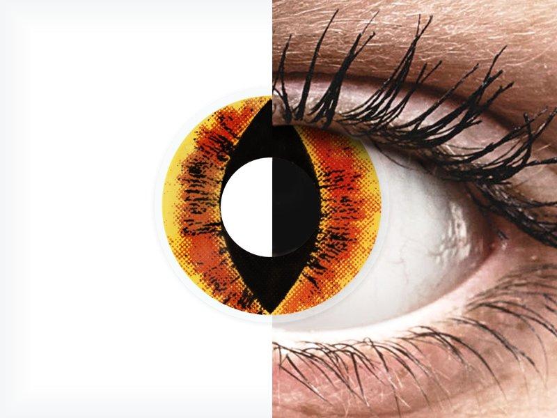 ColourVUE Crazy Lens - Saurons Eye - nedioptrické (2šošovky) - ColourVUE Crazy Lens - Saurons Eye - nedioptrické (2šošovky)