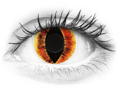 ColourVUE Crazy Lens - Saurons Eye - nedioptrické (2šošovky)
