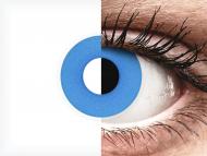 ColourVUE Crazy Lens - Sky Blue - nedioptrické (2šošovky)