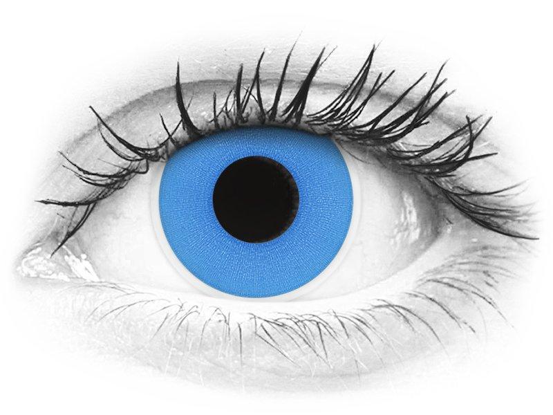 ColourVUE Crazy Lens - Sky Blue - nedioptrické (2šošovky) - ColourVUE Crazy Lens - Sky Blue - nedioptrické (2šošovky)