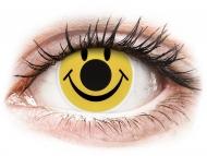Kontaktné šošovky Maxvue Vision - ColourVUE Crazy Lens - Smiley - nedioptrické (2šošovky)