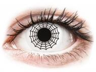 Kontaktné šošovky Maxvue Vision - ColourVUE Crazy Lens - Spider - nedioptrické (2šošovky)