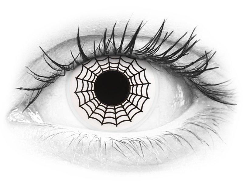 ColourVUE Crazy Lens - Spider - nedioptrické (2šošovky) - ColourVUE Crazy Lens - Spider - nedioptrické (2šošovky)