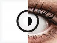 ColourVUE Crazy Lens - White Zombie - nedioptrické (2šošovky)