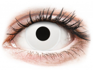 Kontaktné šošovky Maxvue Vision - ColourVUE Crazy Lens - WhiteOut - nedioptrické (2šošovky)
