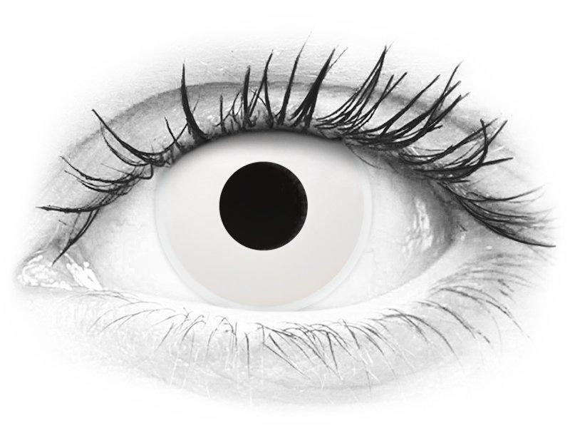 ColourVUE Crazy Lens - WhiteOut - nedioptrické (2šošovky) - ColourVUE Crazy Lens - WhiteOut - nedioptrické (2šošovky)