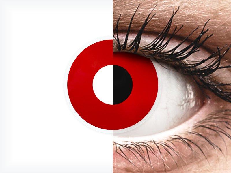 ColourVUE Crazy Lens - Red Devil - dioptrické (2šošovky) - ColourVUE Crazy Lens - Red Devil - dioptrické (2šošovky)