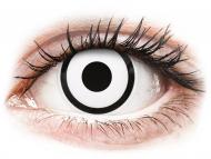 Kontaktné šošovky Maxvue Vision - ColourVUE Crazy Lens - White Zombie - dioptrické (2šošovky)