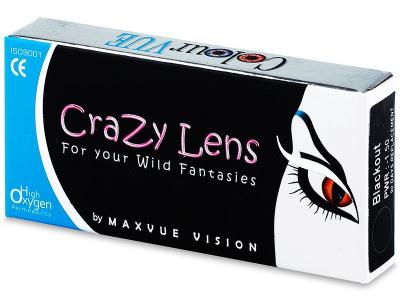 ColourVUE Crazy Lens - WhiteOut - dioptrické (2šošovky)