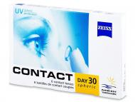 Mesačné kontaktné šošovky - Carl Zeiss Contact Day 30 Spheric (6šošoviek)