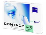 Mesačné kontaktné šošovky - Carl Zeiss Contact Day 30 Compatic (6šošoviek)