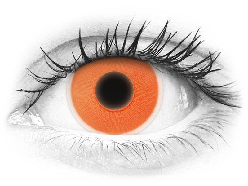 ColourVUE Crazy Glow Orange - nedioptrické (2šošovky) - ColourVUE Crazy Glow Orange - nedioptrické (2šošovky)