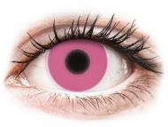 Kontaktné šošovky Maxvue Vision - ColourVUE Crazy Glow Pink - nedioptrické (2šošovky)