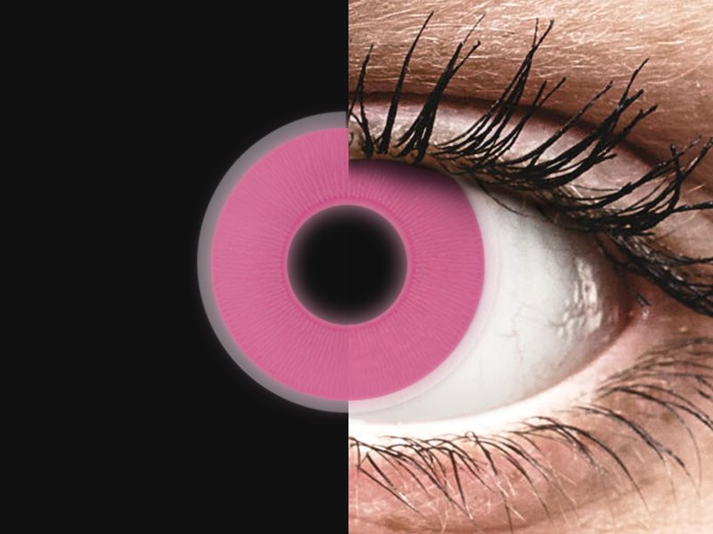 ColourVUE Crazy Glow Pink - nedioptrické (2šošovky) - ColourVUE Crazy Glow Pink - nedioptrické (2šošovky)