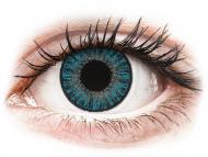 Modré kontaktné šošovky - dioptrické - TopVue Color - Blue - dioptrické denné (10šošoviek)
