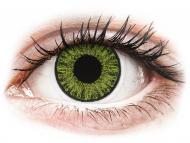 Kontaktné šošovky lacno - TopVue Color - Fresh Green - nedioptrické denné (10šošoviek)