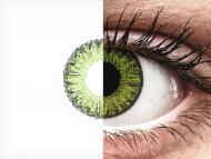 TopVue Color - Fresh green - dioptrické denné (10šošoviek)