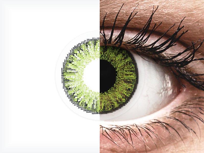 TopVue Color - Fresh green - dioptrické denné (10šošoviek) - TopVue Color - Fresh green - dioptrické denné (10šošoviek)